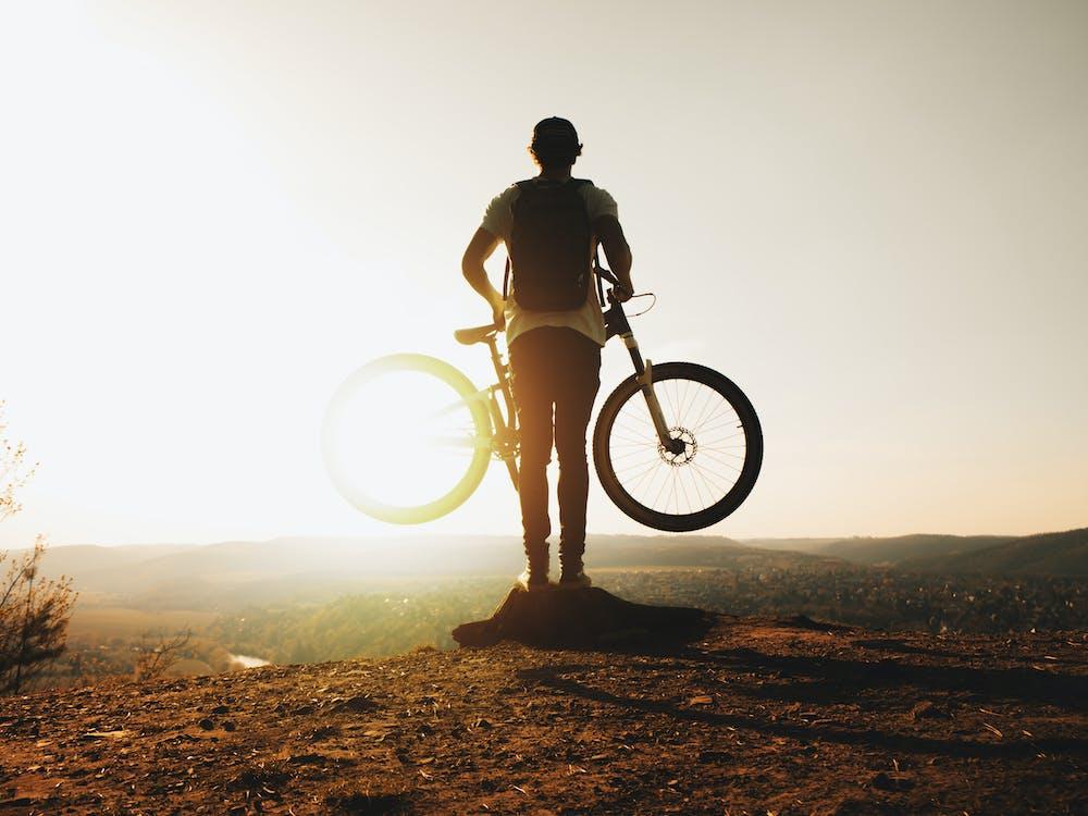 Kostenloses Stock Foto zu abenteuer, erholung, fahrrad