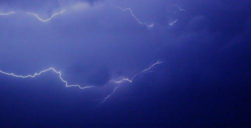 Free stock photo of air, azure, blue sky, bolt