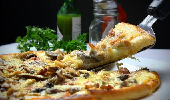 Free stock photo of vegetables, italian, pizza, restaurant