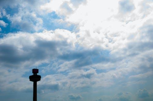Gratis arkivbilde med liverpool, radio by, silhuett, skyer