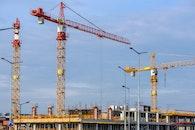 sky, building, construction