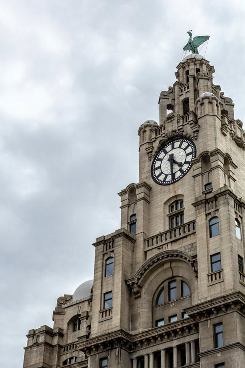 Free stock photo of architecture, liver building, Liverpool