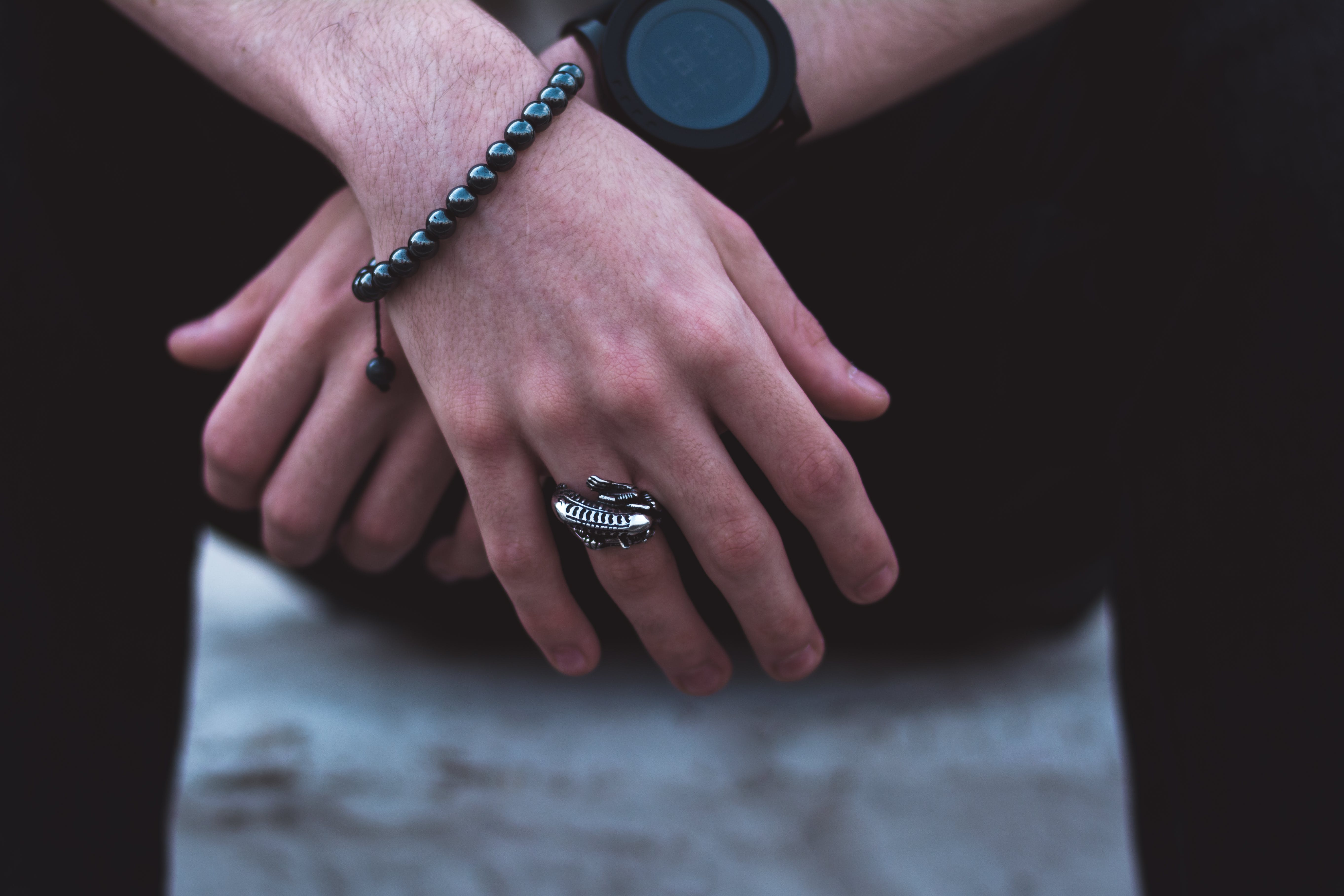 Free stock photo of bracelet, clock, hands, man