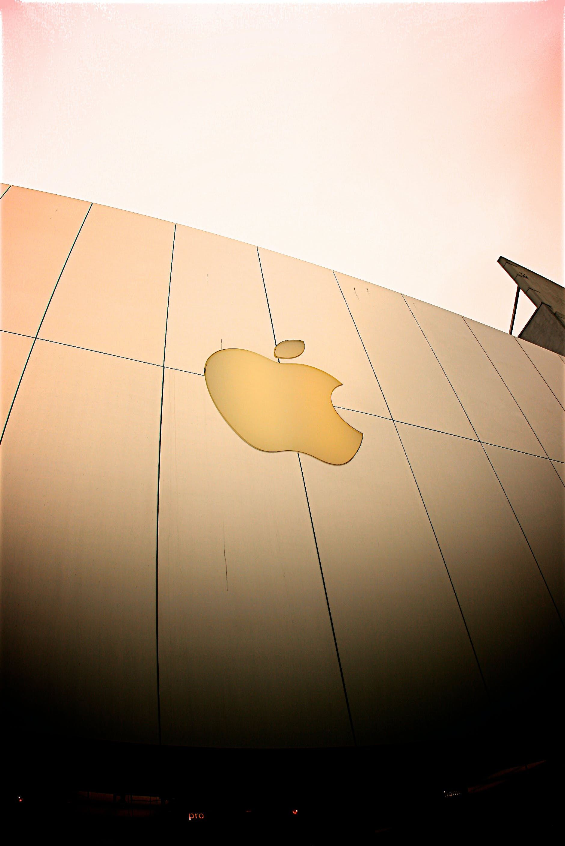 Free stock photo of apple, building, architecture, logo