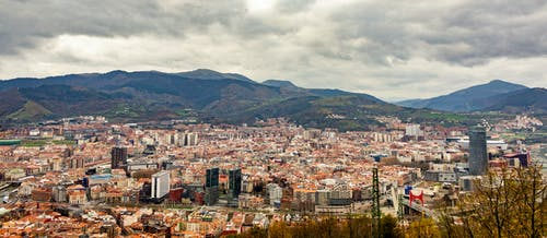 Free stock photo of artxanda, bilbao, buildings, hills