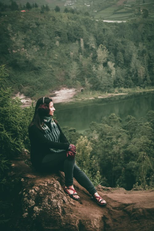 Free stock photo of #lady, #nature, beautiful woman, dieng
