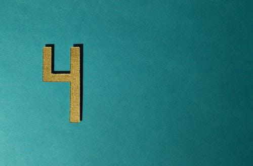 Základová fotografie zdarma na téma číslice, číslo, čtyři, dekorativní