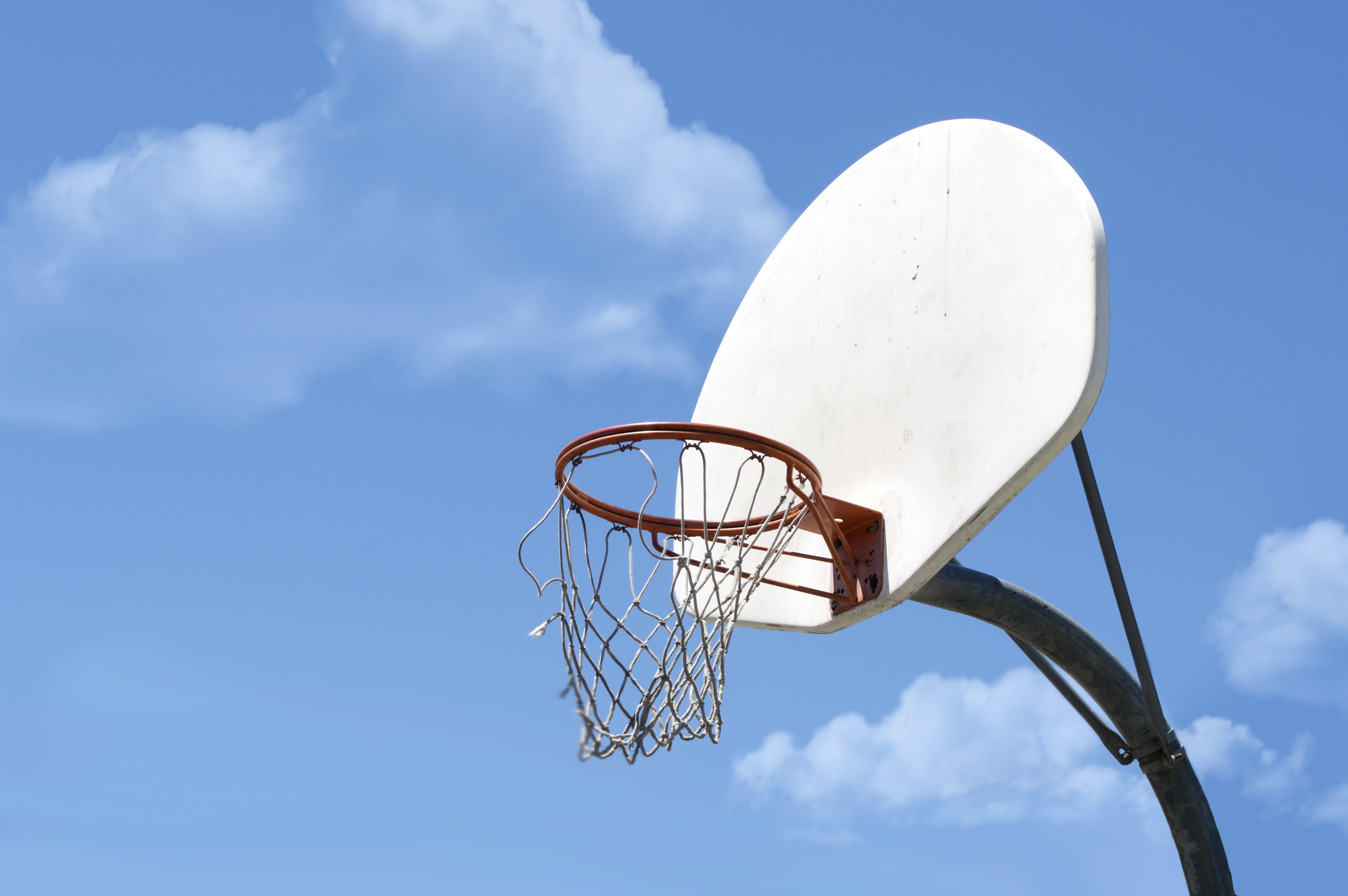 Základová fotografie zdarma na téma basketbal, bball, bílá, koule
