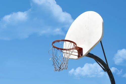 Immagine gratuita di azzurro, basket, bball, bianco