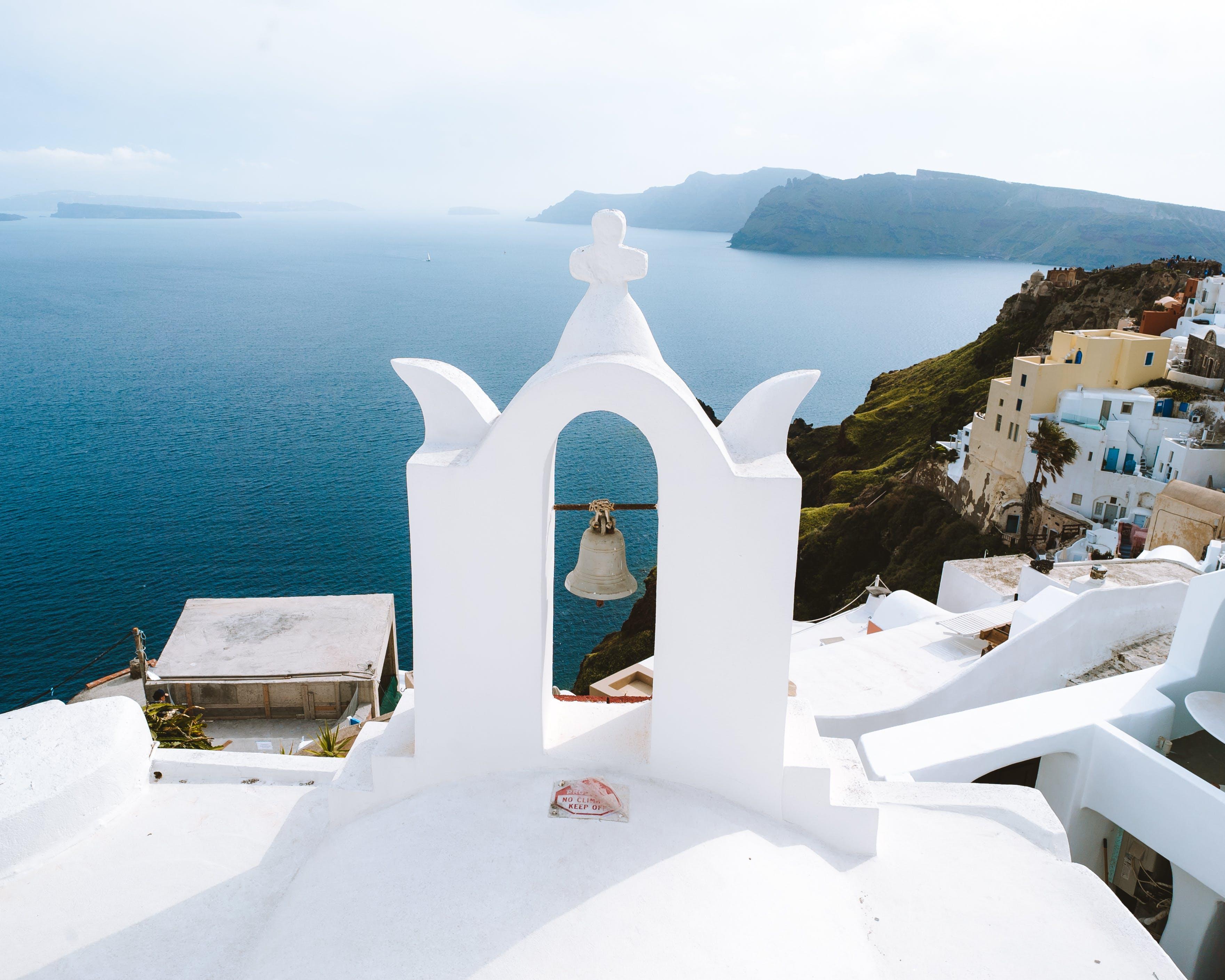 Gratis lagerfoto af arkitektur, dagslys, Grækenland, hav