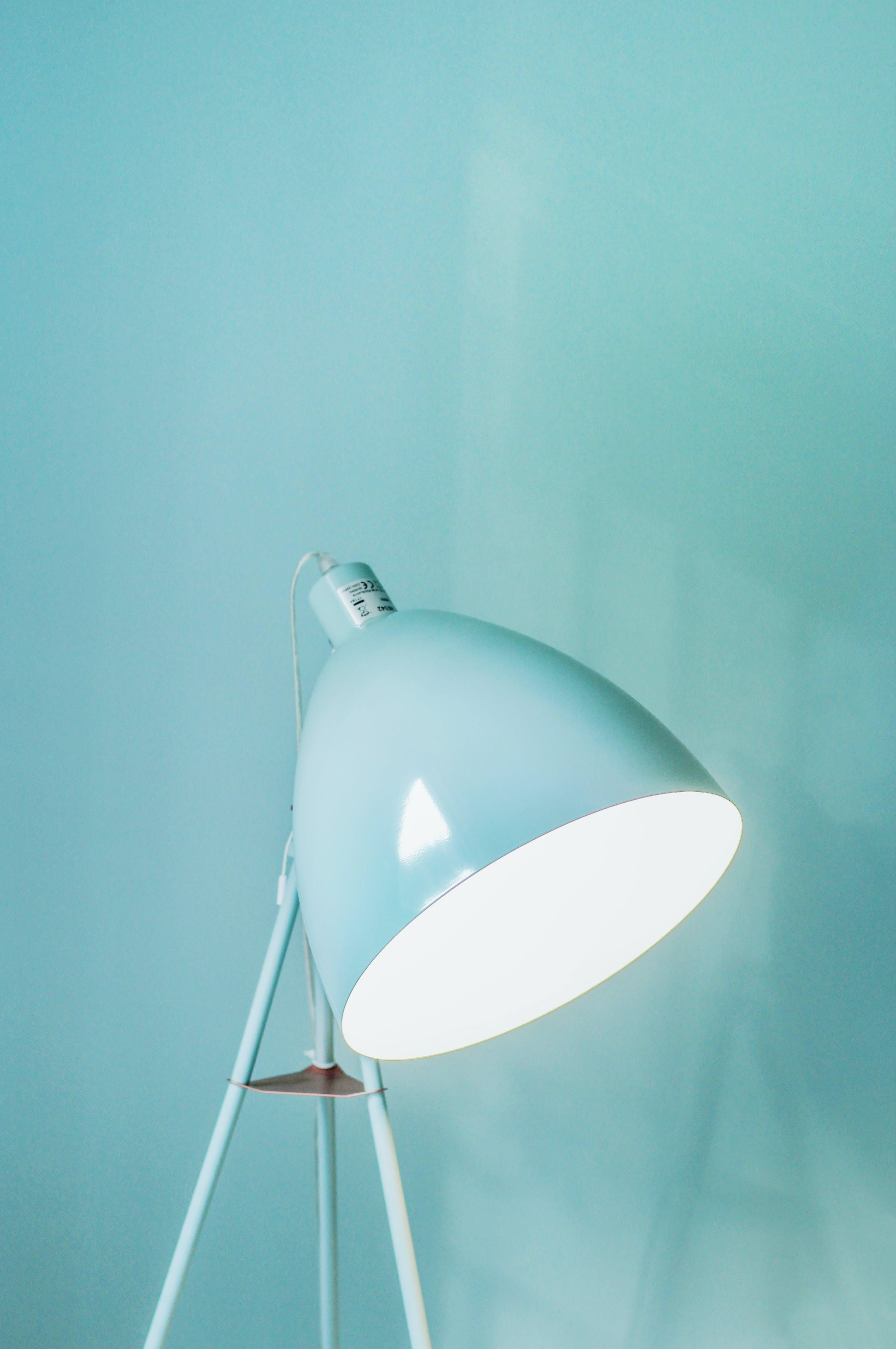 Foto d'estoc gratuïta de acer, blau, blau clar, brillant