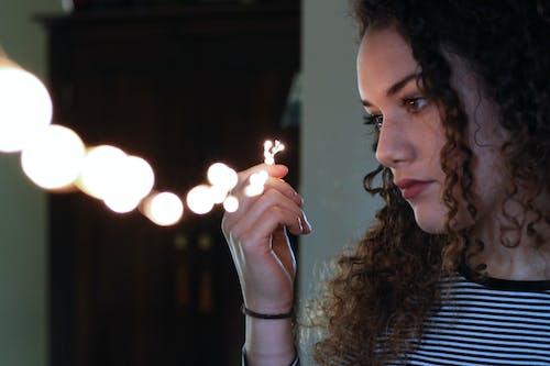 Foto stok gratis cahaya dingin, lampu, lampu LED, lampu listrik