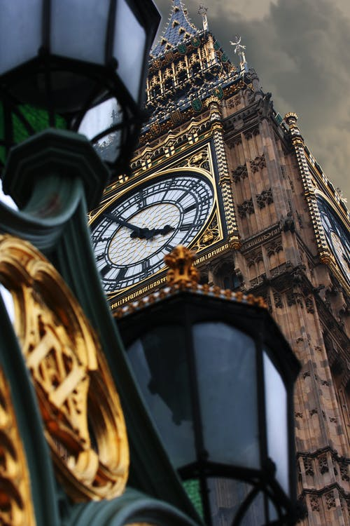 Kostenloses Stock Foto zu big ben, dramatisch, england, großbritannien