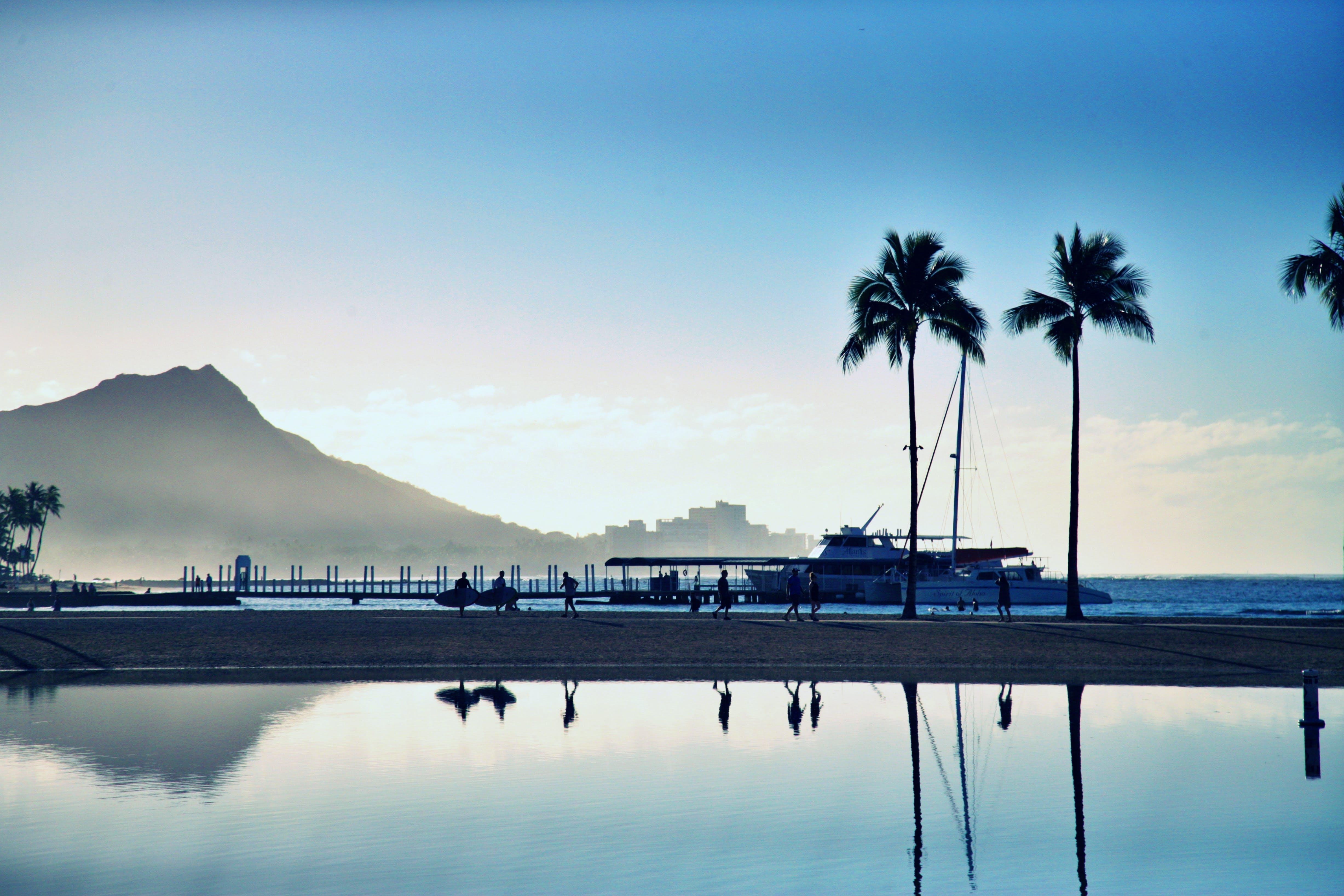 Безкоштовне стокове фото на тему «берег моря, відображення, відпустка, вода»
