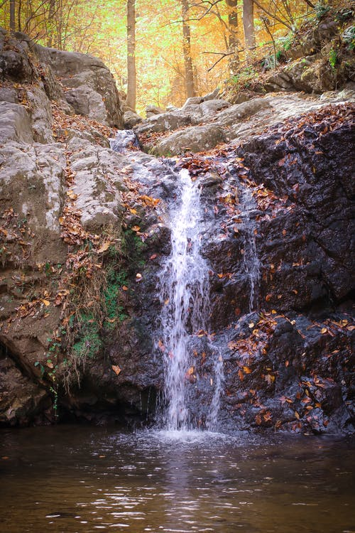 Free stock photo of rocks, waterfall