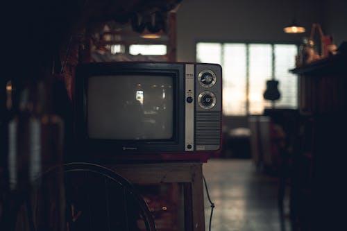 Gratis lagerfoto af årgang, crt tv, elektronisk, enhed