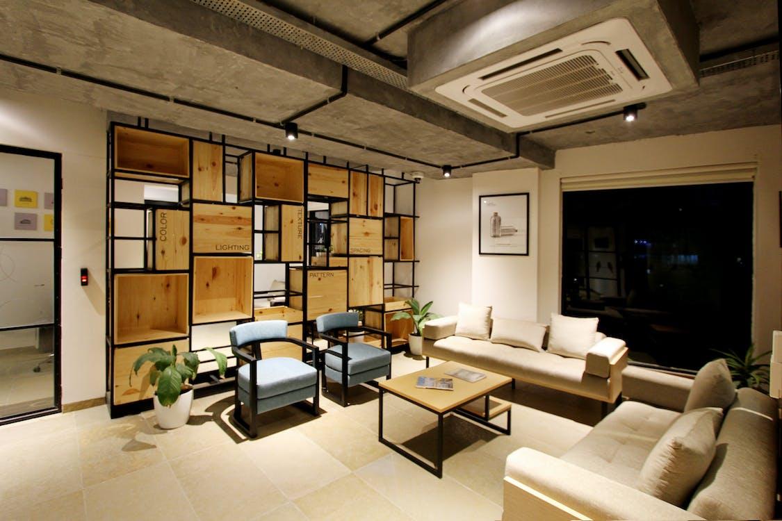 à l'intérieur, appartement, architecture