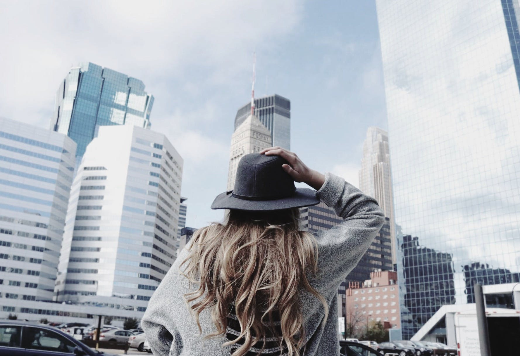 Free stock photo of adventure, art, city, clouds