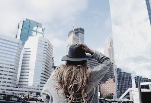 Free stock photo of adventure, art, city, clouds