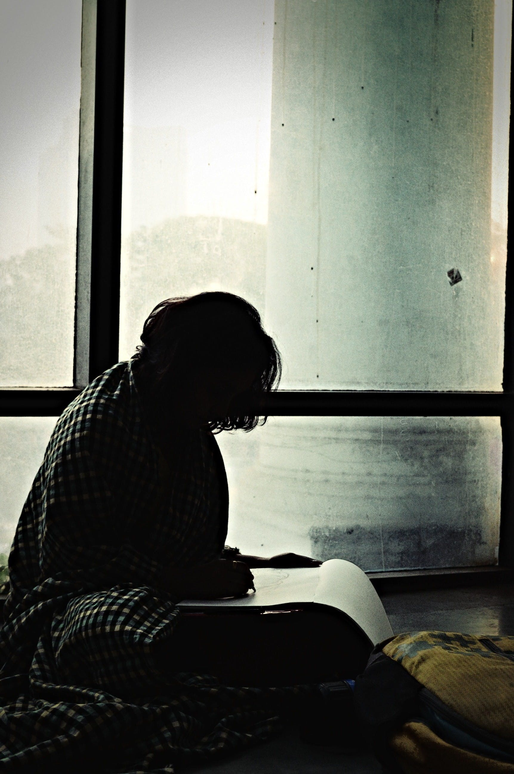 Free stock photo of artist, dark, girl, sketch