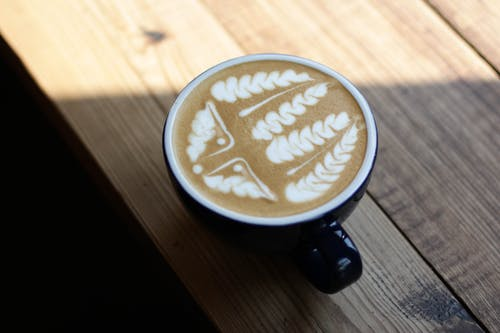 Základová fotografie zdarma na téma caffè latte art, espreso, hrnek, hrnek na kávu
