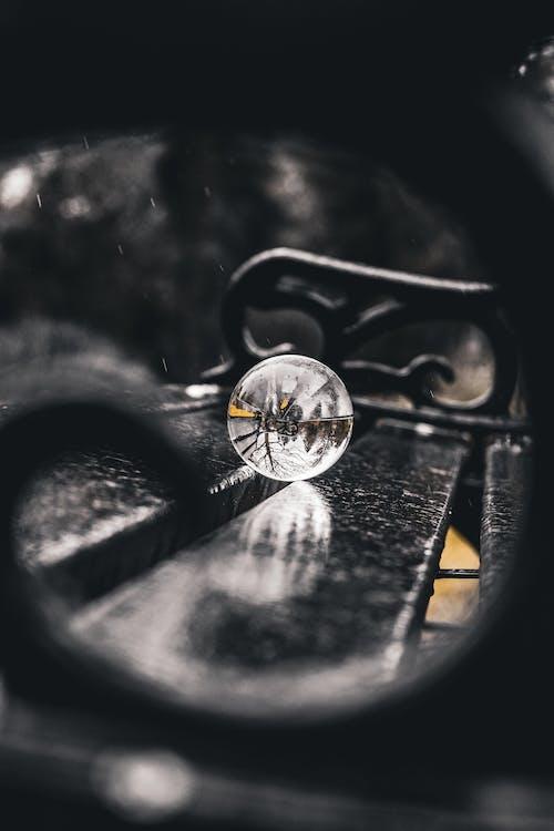 Photos gratuites de banc, bokeh, boule de cristal