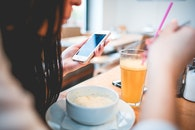 food, restaurant, person