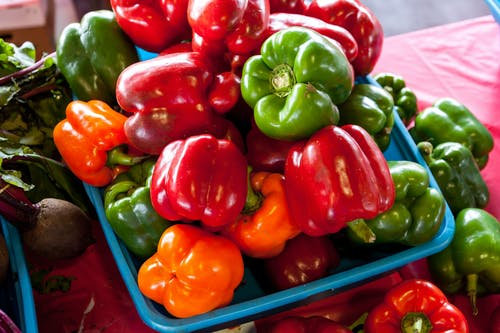 Free stock photo of #agbiopix peppers agriculture farmer's market