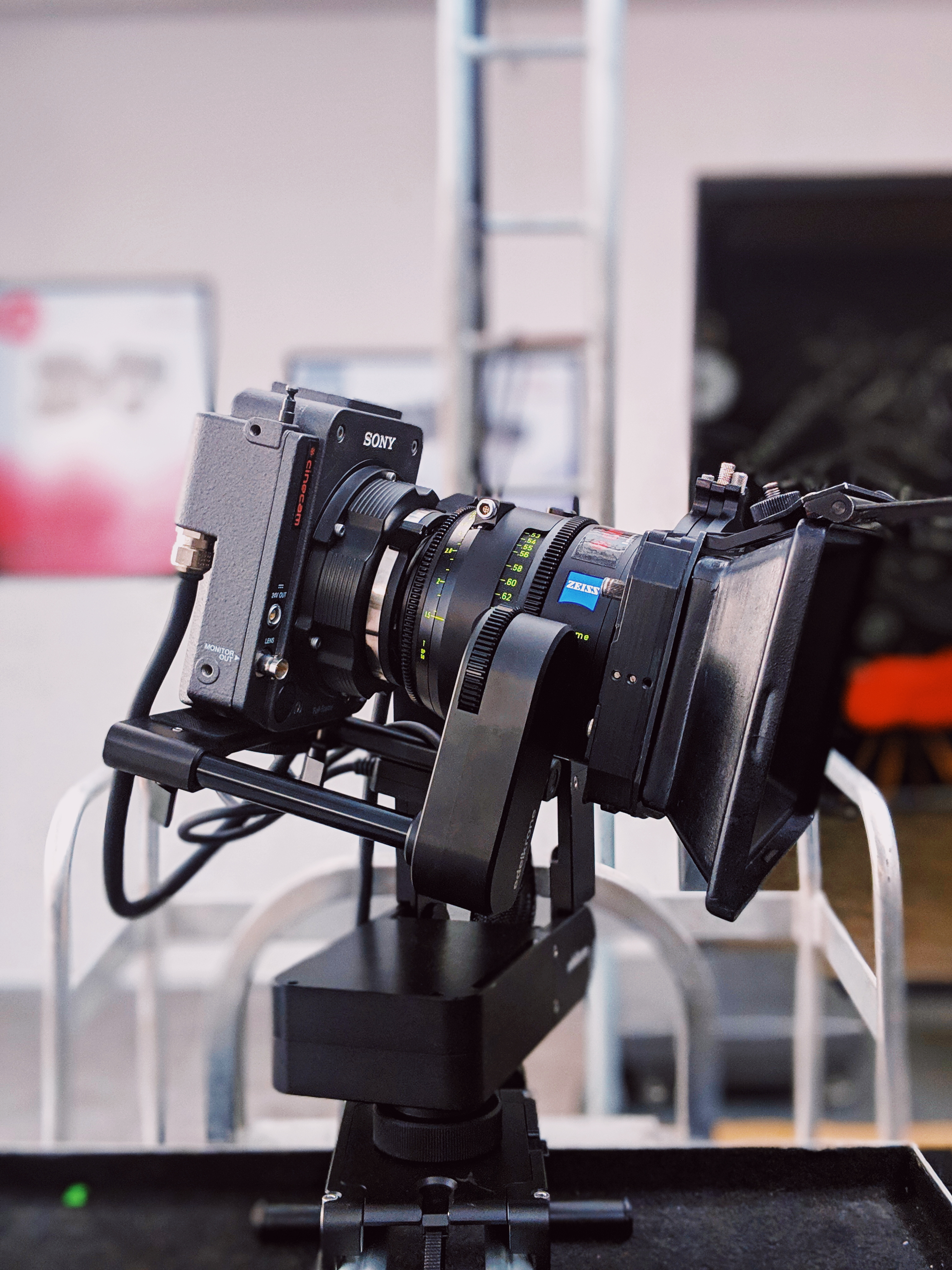 Selective Focus Photography of Black Camera