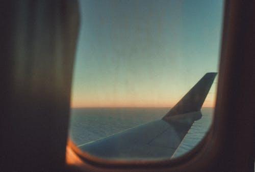 Gratis lagerfoto af dagslys, fly, fly vindue, flyrejse