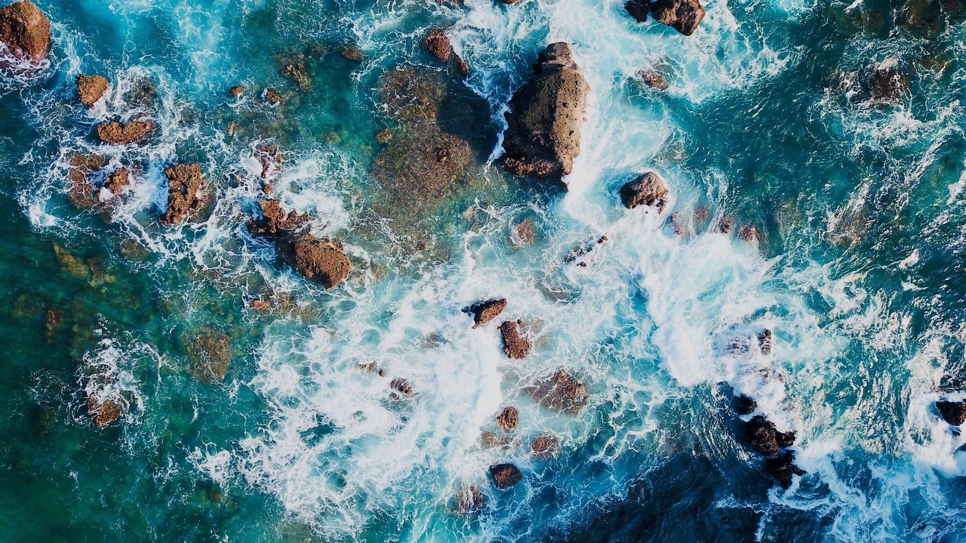 Základová fotografie zdarma na téma HD tapeta, kameny, letecký snímek, mac tapeta