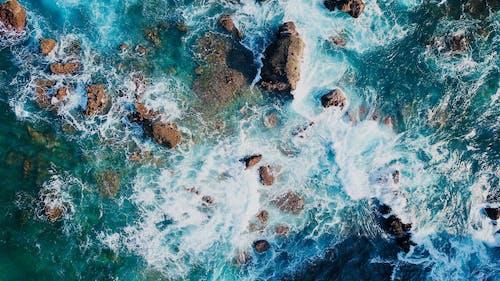 Immagine gratuita di acqua, corpo d'acqua, da sopra, mare