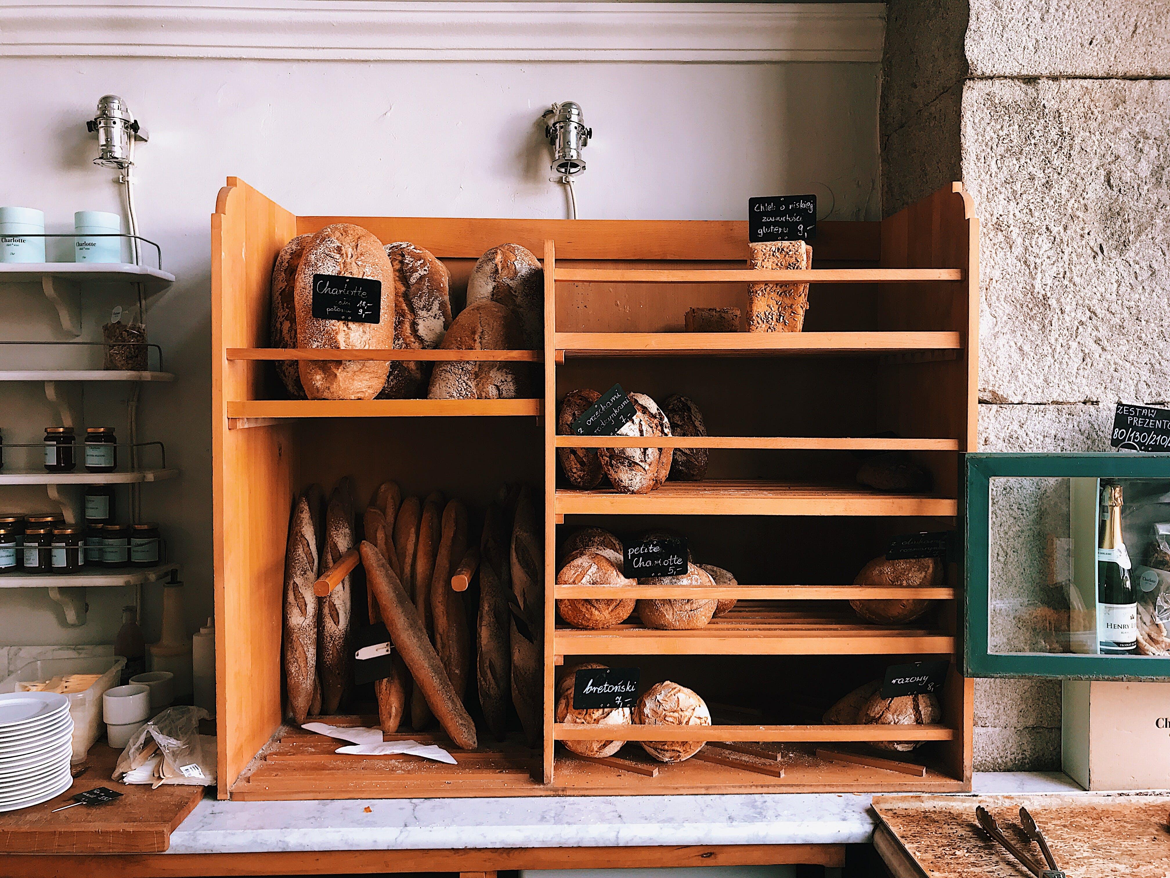 Základová fotografie zdarma na téma akcie, chleba, chutný, dřevěný