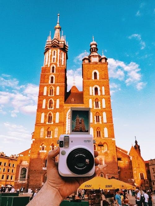 Foto profissional grátis de ao ar livre, aparência, arquitetura, câmera