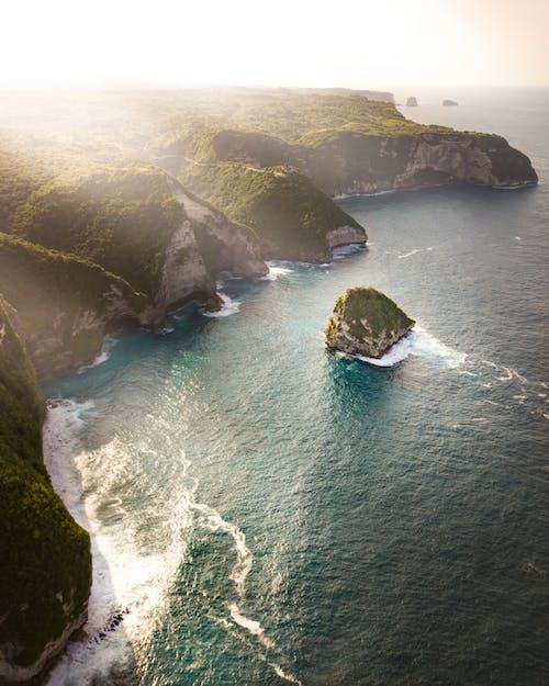 Kostnadsfri bild av dagsljus, drönarbilder, hav, havsområde