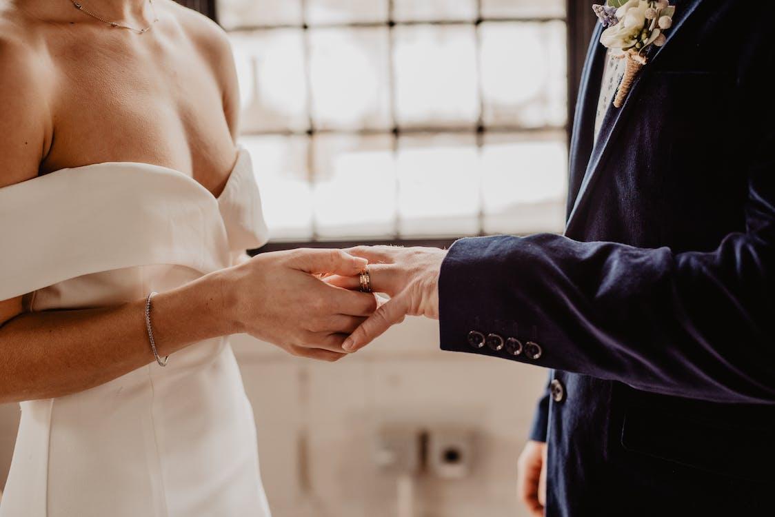 amor, anell, boda