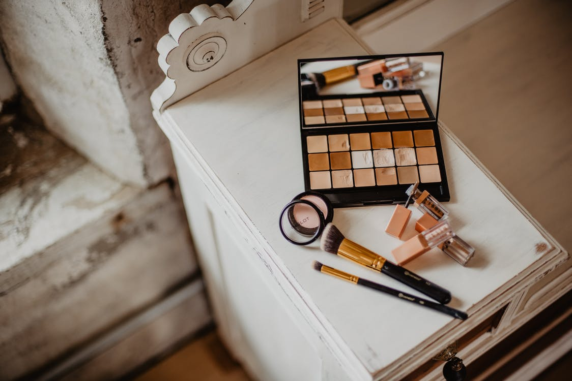 Cosmetic Products On Table
