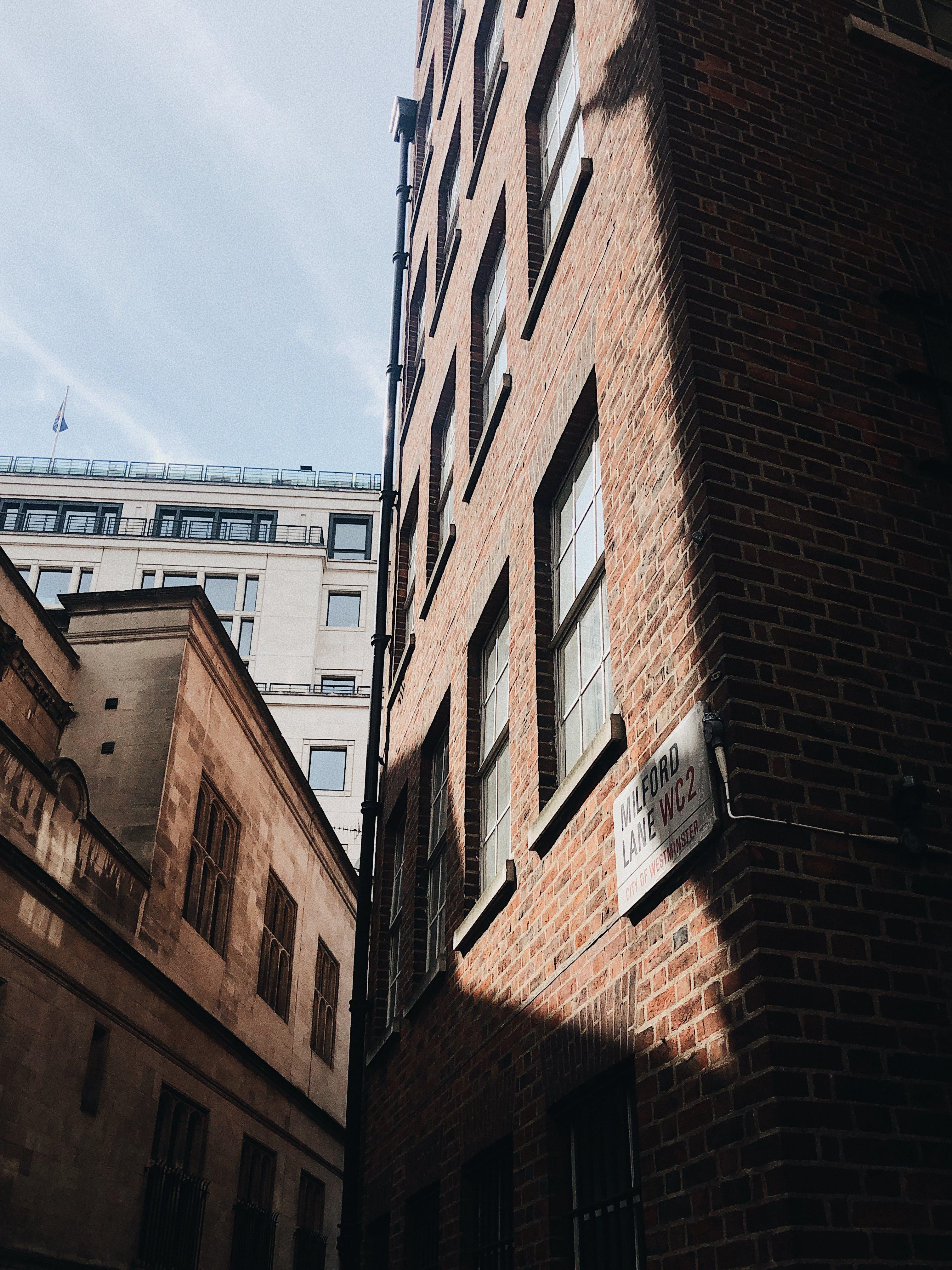 低角度拍攝, 公寓, 外觀, 建築設計 的 免費圖庫相片