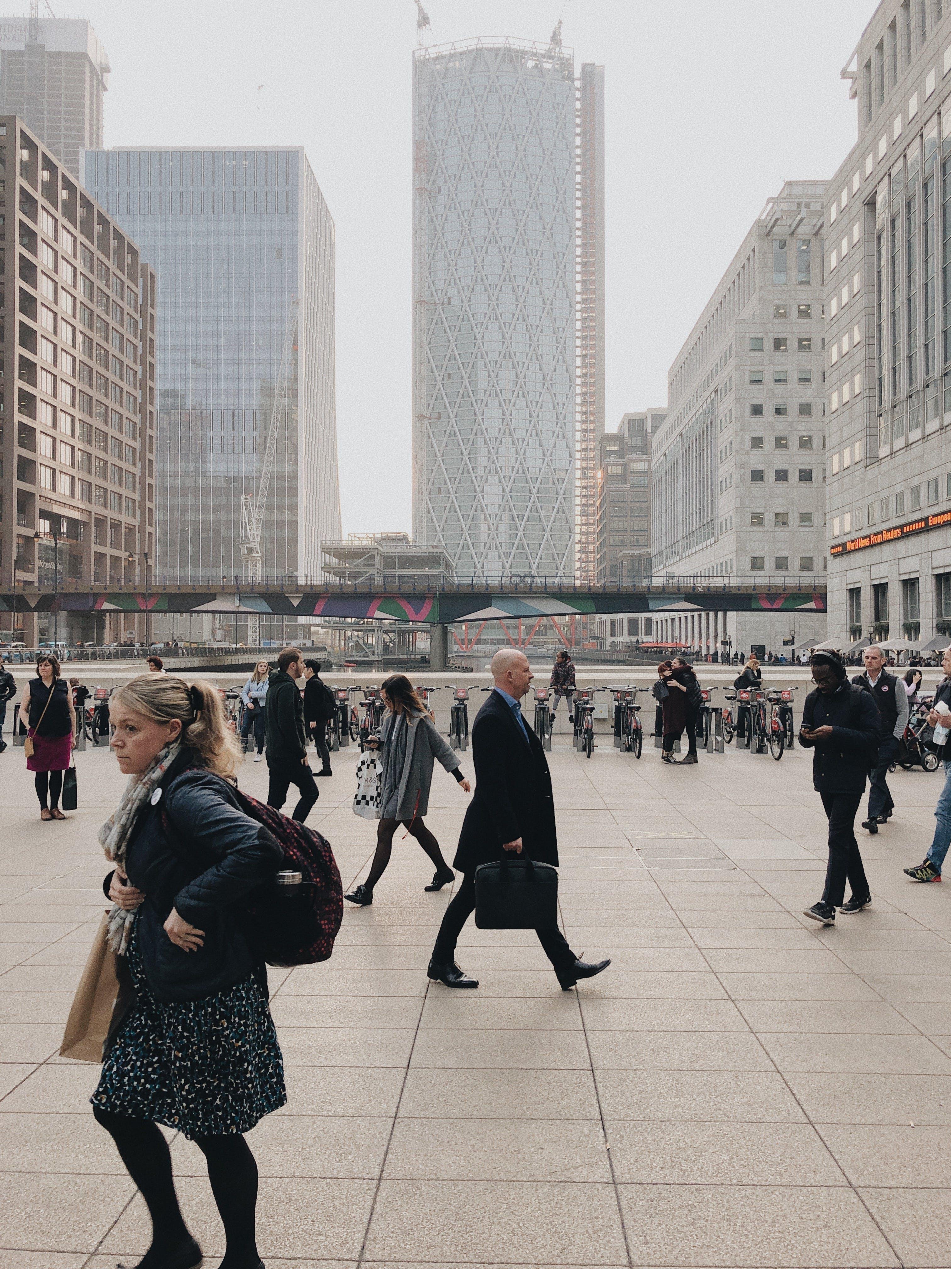 人, 商人, 商業, 城市 的 免費圖庫相片