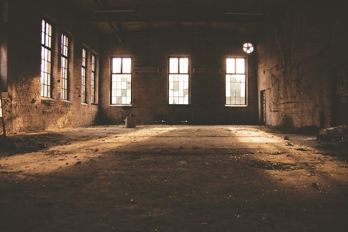 abandonat, arhitectură, bătrân