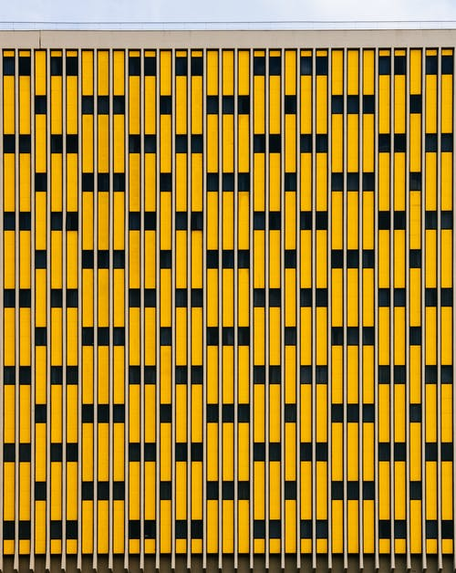 Yellow And Black Pattern