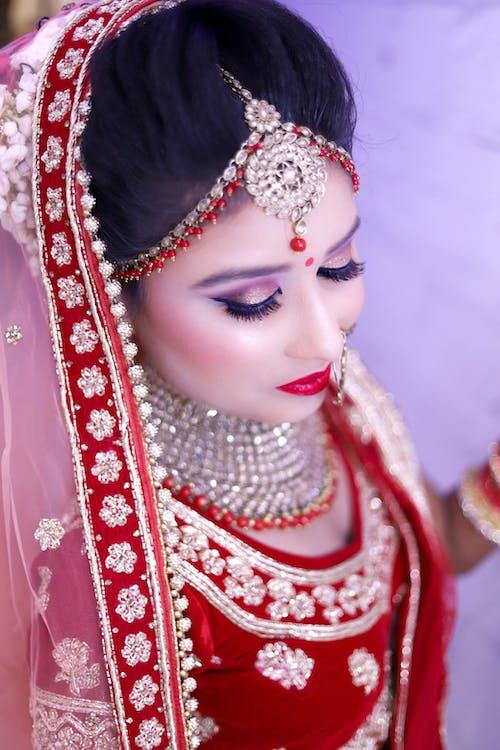 Free stock photo of bride, indian bride, model