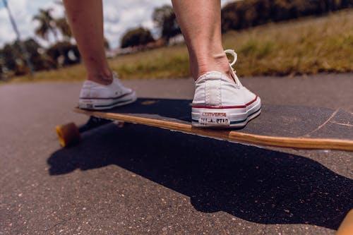 Imagine de stoc gratuită din acțiune, agrement, atlet, Converse