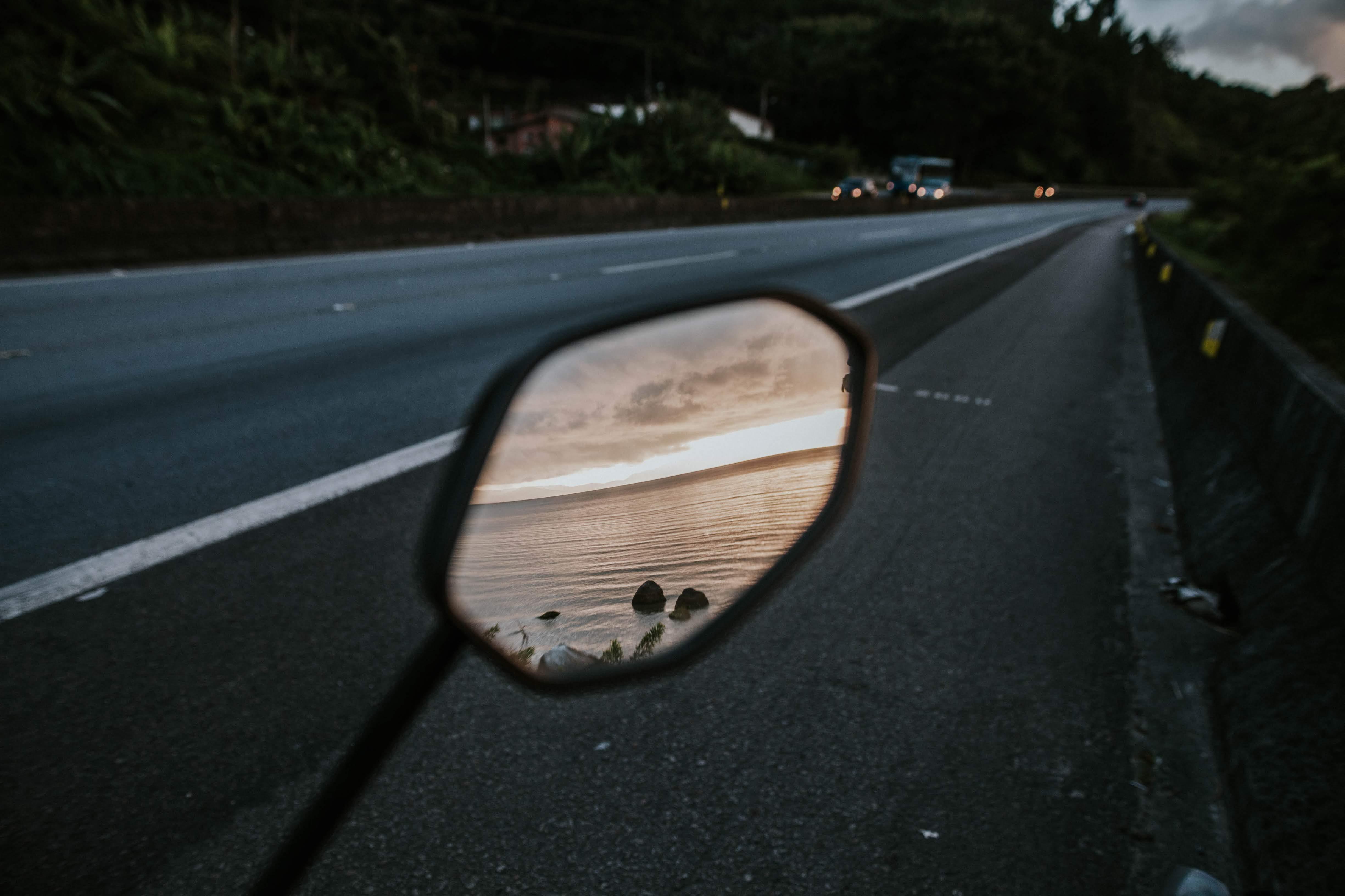 Gratis arkivbilde med asfalt, hav, hovedvei, reise