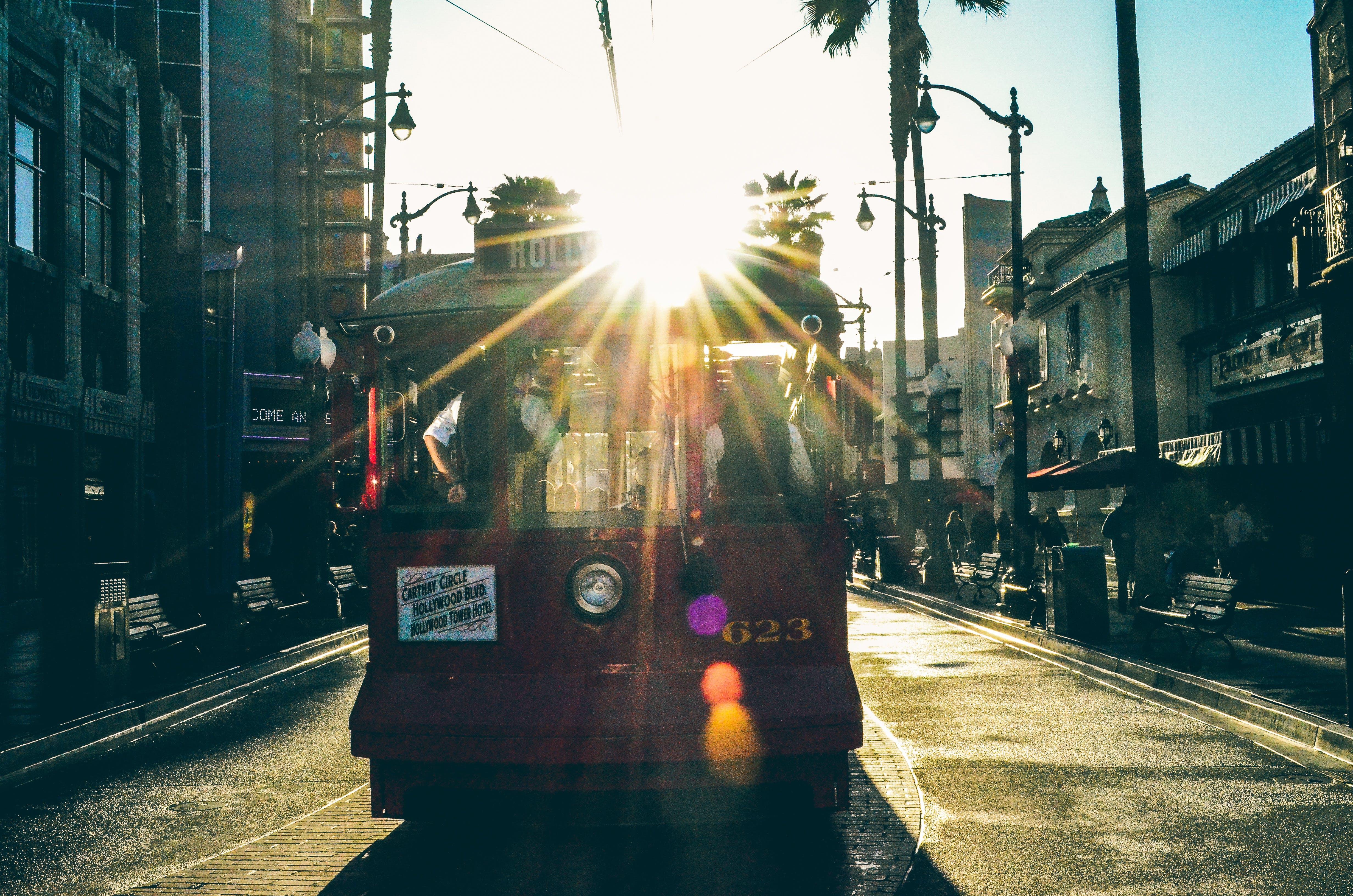 Gratis lagerfoto af disneyland, køre, trolley