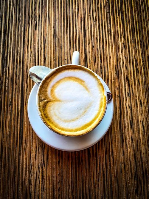 earh, 卡布奇諾, 早餐, 棕色 的 免費圖庫相片