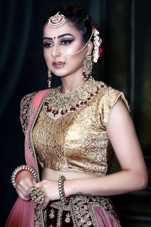 Free stock photo of bride, girls, india model