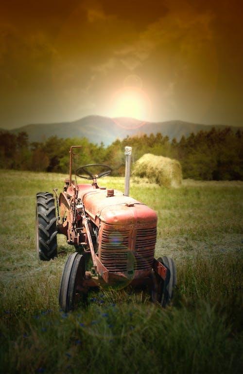 Ilmainen kuvapankkikuva tunnisteilla #agbiopix traktorin vanha maatalous