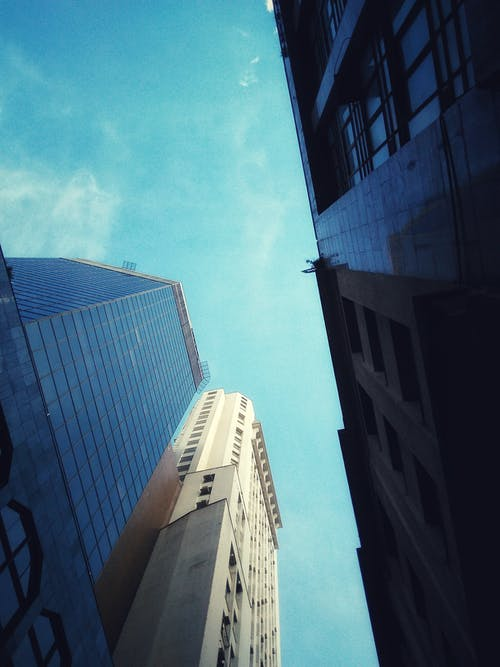 Low Angle Photography of Buildings