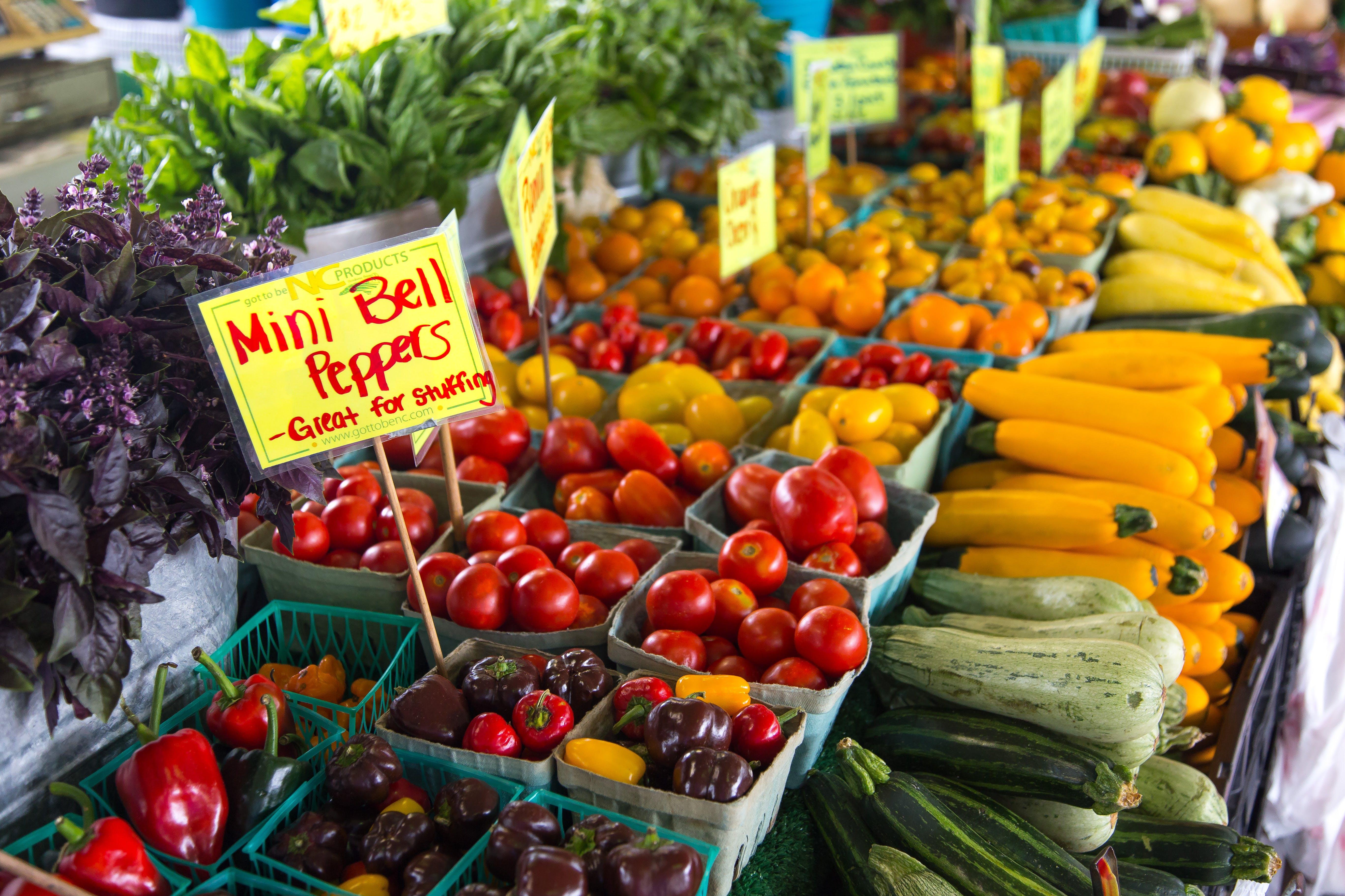 Kostenloses Stock Foto zu bestände, der umsatz, essen, frisch
